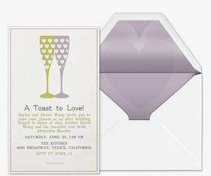Effervescent Love Invitation