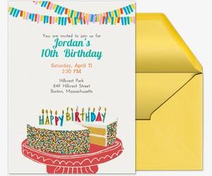 Happiest Birthday Ever Invitation