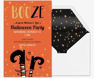 Booze Invite Invitation