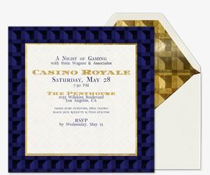 Casino Royale Invitation