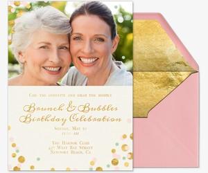 Celebrate Mom Invitation