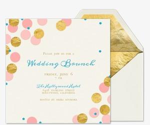post-wedding brunch free online invitations, Wedding invitations