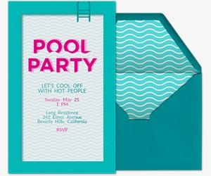 Cool Pool Invitation
