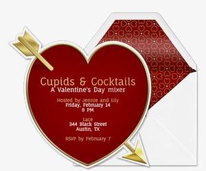 Cupid Invitation