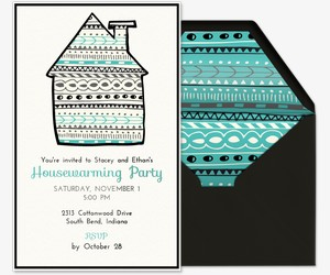 Happy House Invitation
