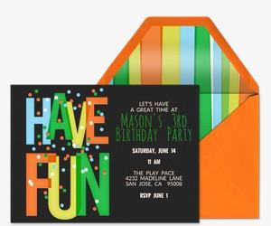 Have Fun Invitation