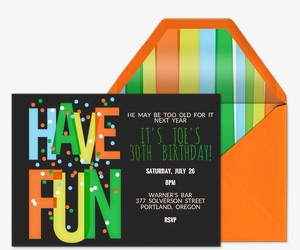 Have Fun Invitation