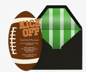Kickoff Invitation