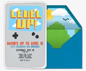 Level Up Invitation