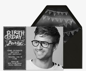 Free Birthday Milestone Invitations Evitecom - Free online invitation cards for birthday party