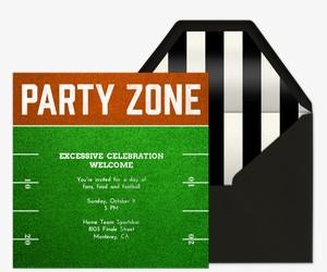 Party Zone Invitation