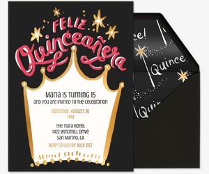 Queen Quince Invitation