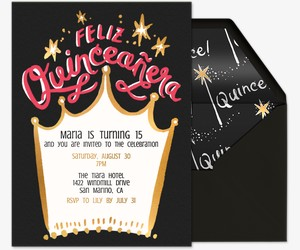 Queen Quince Invitation