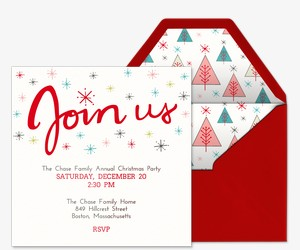 Stars of Wonder Invitation