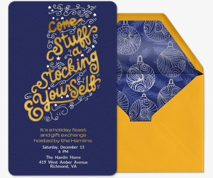 Stuff A Stocking Invitation