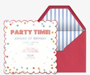 Toot Sweet Invitation
