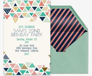 Tri Chic Invitation