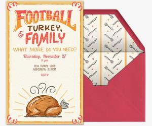 Turkey Bowl Invitation