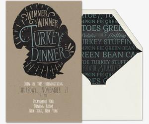Turkey Dinner Invitation