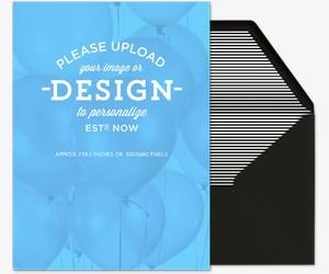 Design Your Own Portrait Invitation