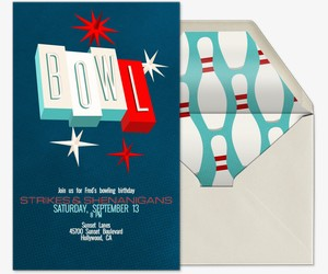 Vintage Bowl Invitation