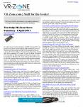 VR-Zone Tech News for the Geeks Apr 2011 Issue