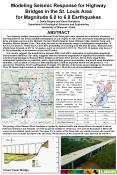 Modeling Seismic Response for Highway Bridges in the St. Louis Area for Magnitude 6.0 to 6.8 Earthquakes J. David Rogers and Deniz Karadeniz Department of Geological Sciences and Engineering University of Missouri - Rolla PowerPoint PPT Presentation