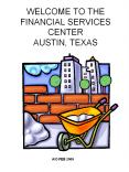 WELCOME TO THE FINANCIAL SERVICES CENTER AUSTIN, TEXAS PowerPoint PPT Presentation