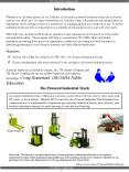 Forklift Safety  PowerPoint PPT Presentation