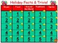 Holiday Facts & Trivia! PowerPoint PPT Presentation