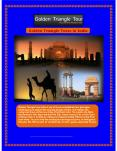 Golden Triangle Tour a Historic Journey of North India Presentation PowerPoint PPT Presentation