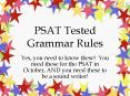 PSAT Tested Grammar Rules PowerPoint PPT Presentation
