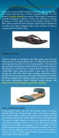 Essential facts about orthotic sandals PowerPoint PPT Presentation