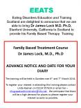 Eating Disorders Education and Training Scotland are delighted to announce that we are able to bring Dr James Lock M.D. Ph.D, Stanford University, California to Scotland to provide his Family Based Therapy Training PowerPoint PPT Presentation