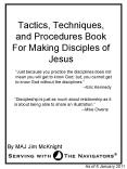 Tactics, Techniques, and Procedures Book For Making Disciples of Jesus PowerPoint PPT Presentation