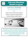 Colorado Physician Health Program PowerPoint PPT Presentation