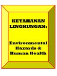 KETAHANAN LINGKUNGAN:  Environmental Hazards PowerPoint PPT Presentation
