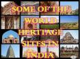 Some of the World Heritage Sites in India PowerPoint PPT Presentation