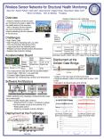Wireless Sensor Networks for Structural Health Monitoring PowerPoint PPT Presentation
