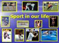 Sport in our life PowerPoint PPT Presentation
