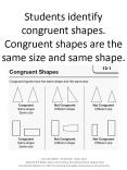 Students identify congruent shapes. Congruent shapes are the same size and same shape. PowerPoint PPT Presentation
