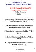 Syllabus for 2GLSS, Galaxies and Large Scale Structures.      Dr. P.H. Regan, 29BC04, x6783   p.regan@surrey.ac.uk    Spring Semester Books  1) Discovering Astronomy, Robins, Jefferys and Shawl, Wiley, (RJS) 2) An Introduction to Modern PowerPoint PPT Presentation