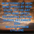 MONITORING OF HIGH WIND SPEED BY NEW STATE-OF-THE-ART HIGH WIND SPEED RECORDING SYSTEM DURING DECEMBER 2003 PowerPoint PPT Presentation