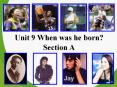 Unit 9 When was he born? PowerPoint PPT Presentation