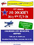 49th Annual   J.O. DOCKREY  July 4th FLY-IN PowerPoint PPT Presentation