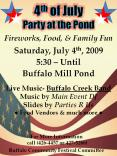 4th of July Party at the Pond PowerPoint PPT Presentation