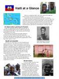 Haiti at a Glance PowerPoint PPT Presentation