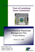 Town of Lunenburg Sewer Commission PowerPoint PPT Presentation