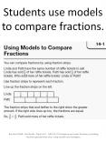 Students use models to compare fractions. PowerPoint PPT Presentation