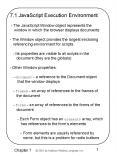 7.1 JavaScript Execution Environment PowerPoint PPT Presentation